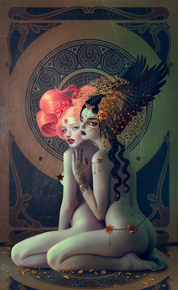 Rose and Gold di Natalie Shau