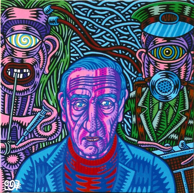William Burroughs di Prof. Bad Trip