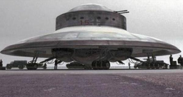Nazi UFO real photo